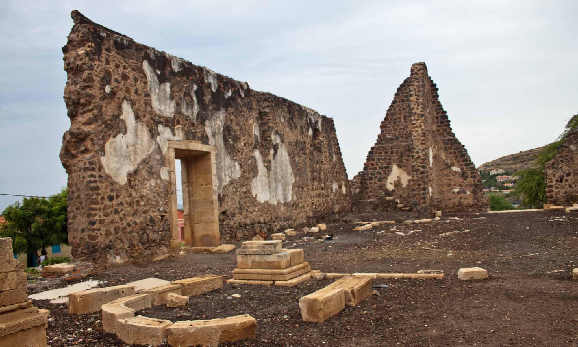 """De ruines van  """"Sé"""" kathedraal"""